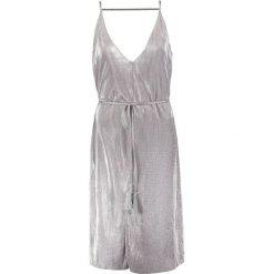 Sukienki hiszpanki: Topshop Sukienka koktajlowa silver