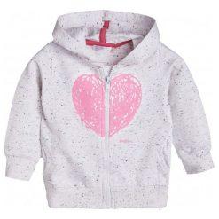 Bluzy dziewczęce rozpinane: Rozpinana bluza z kapturem dla dziecka 0-3 lata