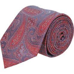 Krawat platinum czerwony classic 228. Czerwone krawaty męskie Recman. Za 49,00 zł.