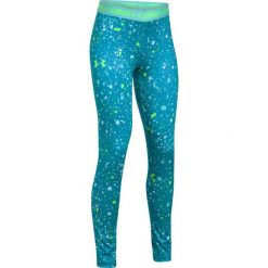 Spodnie sportowe damskie: Under Armour Spodnie damskie HG Printed Legging niebieskie r. XS (1271028-929)