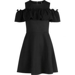 Sukienki hiszpanki: YAS Sukienka z dżerseju black