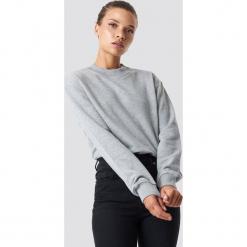 NA-KD Basic Bluza basic - Grey. Różowe bluzy damskie marki NA-KD Basic, prążkowane. Za 100,95 zł.