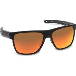 Okulary przeciwsłoneczne OAKLEY - Crossrange XL OO9360-1258 Matte Black/Prizm Ruby. Czarne okulary przeciwsłoneczne męskie aviatory Oakley, z tworzywa sztucznego. W wyprzedaży za 579,00 zł.