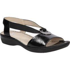 SANDAŁY CAPRICE 9-28659-26. Czarne sandały damskie Caprice. Za 159,99 zł.