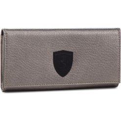 Akcesoria: Duży Portfel Damski PUMA - Sf Ls Wallet F 053477 01 Metallic Ash