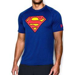 Under Armour Koszulka męska Transform Yourself Core Superman niebieska r. XL (1249871-400). Szare koszulki sportowe męskie marki Under Armour, z elastanu, sportowe. Za 116,91 zł.