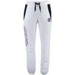 """Spodnie męskie: Spodnie dresowe """"Mirana"""" w kolorze białym"""