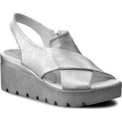 Rzymianki damskie: Sandały SIMEN – 0216 K.Srebro