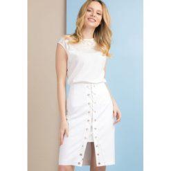 Spódniczki: Spódnica ze sznurowanym przodem