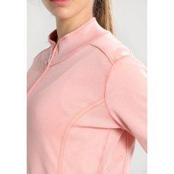 Deha FELPA CON ZIP Bluza rozpinana terra cotta. Pomarańczowe bluzy damskie Deha, m, z bawełny. W wyprzedaży za 377,10 zł.