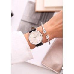 Biżuteria i zegarki: Czarno-Biały Zegarek Miser
