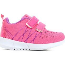 Fuksjowe Buty Sportowe Girl Chic. Czerwone buty sportowe dziewczęce marki La Redoute Collections, z materiału, na obcasie, na sznurówki. Za 39,99 zł.