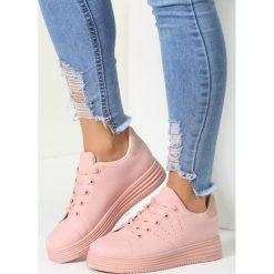 Różowe Buty Sportowe Something Stupid. Czerwone buty sportowe damskie marki KALENJI, z gumy. Za 69,99 zł.