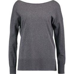 Swetry klasyczne damskie: Sisley Sweter dark grey