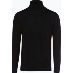 Drykorn - Sweter męski – Joey, czarny. Niebieskie swetry klasyczne męskie marki DRYKORN, m, z dekoltem karo. Za 449,95 zł.