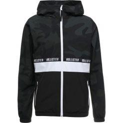 Hollister Co. HOODED CAMO BLOCK Kurtka wiosenna khaki. Brązowe kurtki męskie Hollister Co., m, z elastanu. Za 359,00 zł.