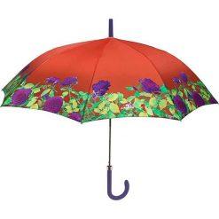 """Parasole: Parasol """"Flower"""" w kolorze pomarańczowym ze wzorem"""