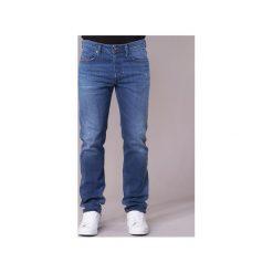 Jeansy straight leg Diesel  BUSTER. Niebieskie jeansy męskie marki Diesel. Za 527,20 zł.