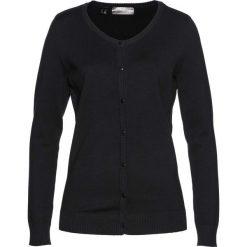 Sweter rozpinany bonprix czarny. Szare kardigany damskie marki Mohito, l. Za 89,99 zł.