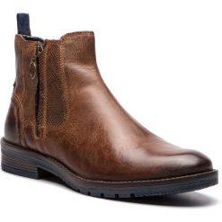 Kozaki WRANGLER - Boogie Chelsea WM182045 Rust 69. Brązowe buty zimowe męskie Wrangler, z materiału. W wyprzedaży za 279,00 zł.