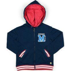 Bluza w kolorze granatowym. Niebieskie bluzy chłopięce marki Street Monkey, z bawełny. W wyprzedaży za 77,95 zł.