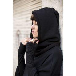 Czapki zimowe damskie: czapka KOMINIARKO-KAPTUR black