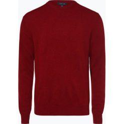 Andrew James - Sweter męski z dodatkiem kaszmiru, czerwony. Czerwone swetry klasyczne męskie Andrew James, m, z kaszmiru. Za 229,95 zł.