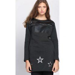 Ciemnoszara Tunika Ambition Fashion. Szare tuniki damskie Born2be, l. Za 39,99 zł.