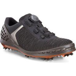 Golfy męskie: ECCO Men's Golf Cage – Czarny – 39