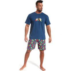 Piżamy męskie: Męska piżama CORNETTE Chilli Siesta 100% bawełny