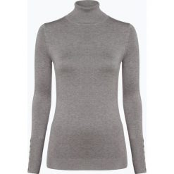 Marie Lund - Sweter damski, szary. Szare swetry klasyczne damskie Marie Lund, xxl, prążkowane, z golfem. Za 149,95 zł.