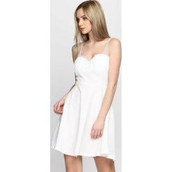 Sukienki: Biała Sukienka Lace Dress