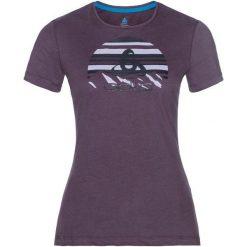 Odlo Koszulka tech. Odlo  TOP Crew neck s/s KUMANO LOGO   - 550091 - 550091/30489/S. Szare t-shirty damskie Odlo, s. Za 82,57 zł.