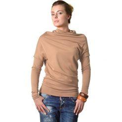 Golfy damskie: Sweter w kolorze beżowym