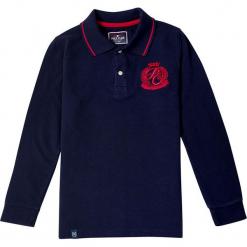 Koszulka polo w kolorze granatowym. Niebieskie t-shirty chłopięce marki Polo Club Women & Kids, z haftami, z bawełny. W wyprzedaży za 173,95 zł.