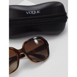 VOGUE Eyewear Okulary przeciwsłoneczne havana. Brązowe okulary przeciwsłoneczne damskie marki VOGUE Eyewear. Za 459,00 zł.