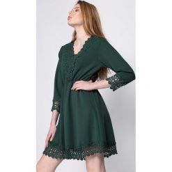 Sukienki: Zielona Sukienka Novel