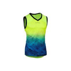 Koszulka do rugby MĘSKA. Czarne koszulki sportowe męskie marki B'TWIN, na jesień, m, z elastanu. Za 64,99 zł.