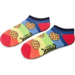 Skarpety Niskie Dziecięce FREAK FEET - JSCIA-BLR Kolorowy. Pomarańczowe skarpetki męskie Freak Feet, w kolorowe wzory, z bawełny. Za 9,99 zł.