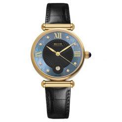 ZEGAREK EPOS Ladies 8000.700.22.85.15. Niebieskie zegarki damskie EPOS, ze stali. Za 2900,00 zł.