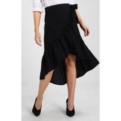 Spódniczki trapezowe: Noisy May Petite NMCARINA SKIRT  Spódnica z zakładką black