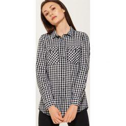 Koszula w kratę - Wielobarwn. Szare koszule damskie marki House, l. Za 69,99 zł.