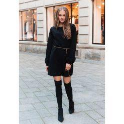 Czarna Sukienka Emotion. Czarne sukienki koktajlowe marki other, m. Za 99,99 zł.