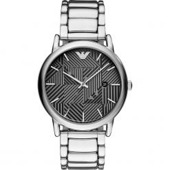 Zegarek EMPORIO ARMANI - Luigi AR11134 Silver/Silver. Szare zegarki męskie Emporio Armani. Za 1145,00 zł.