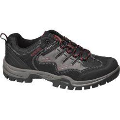 Buty trekkingowe męskie: trekkingowe buty męskie Highland Creek czarno-szare
