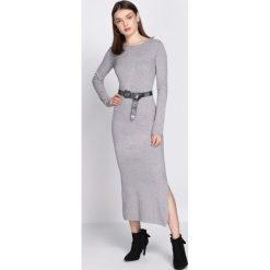 Sukienki: Szara Sukienka Rationality