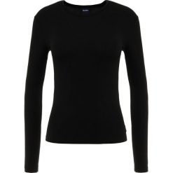 Max Mara Leisure FELIX Bluzka z długim rękawem schwarz. Czarne bluzki asymetryczne Max Mara Leisure, xl, z elastanu, z długim rękawem. Za 399,00 zł.