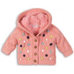 Minoti Sweter Dziewczęcy W Kolorowe Kropki 86/92 Różowy. Czerwone swetry dziewczęce MINOTI, w kolorowe wzory. Za 99,00 zł.