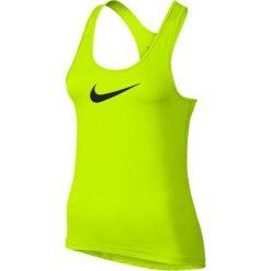 Nike Koszulka treningowa Pro Cool Tank W Żółty r. M - (725489-702). Czarne t-shirty damskie marki Nike, xs, z bawełny. Za 89,60 zł.