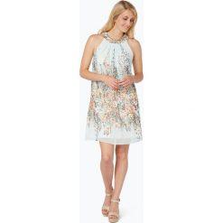 Esprit Collection - Sukienka damska, niebieski. Niebieskie sukienki hiszpanki Esprit Collection, w kolorowe wzory, wakacyjne. Za 449,95 zł.